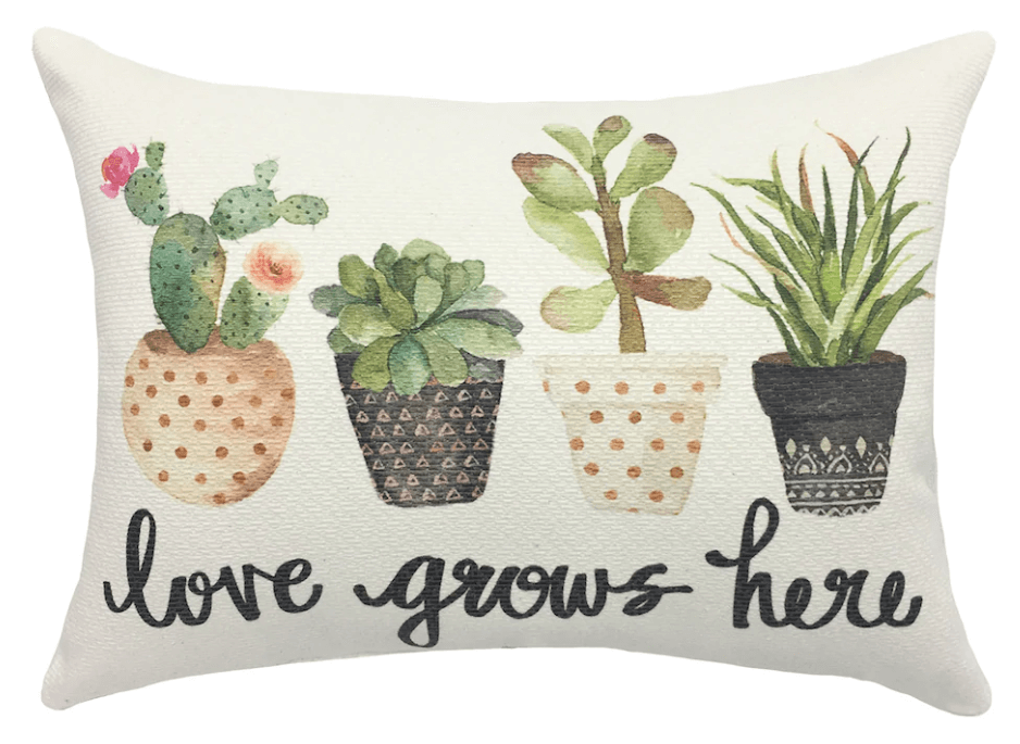 Succulent Throw Pillows