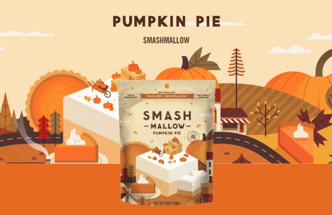 Pumpkin Pie Smashmallows