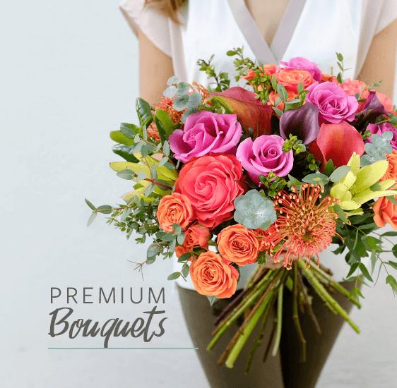 premium bouquet of flowers