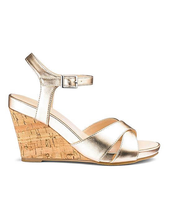 heavenly soles wedge sandal