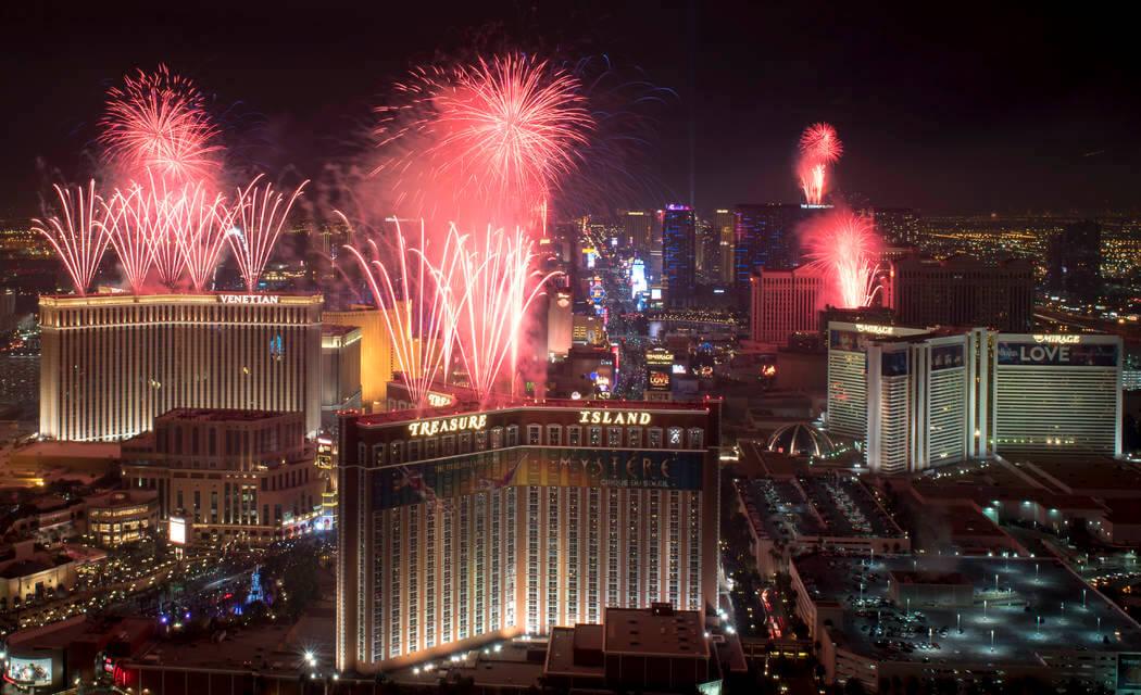 Las Vegas Firework Celebration