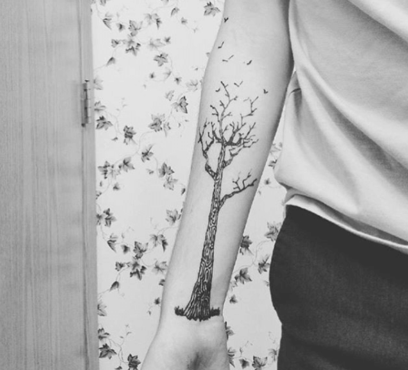 Freehand Tattoo Ink