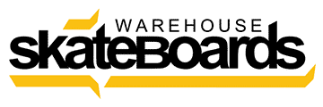 warehouse skateboards logo