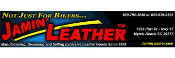 Jamin' Leather logo