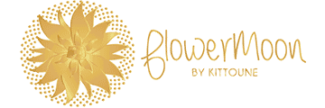 FlowerMoon by Kittoune logo
