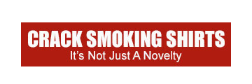 CRACK SMOKING SHIRTS logo