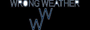 WRONG WEATHER logo