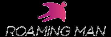 ROAMING MAN logo