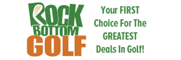 Rock Bottom Golf logo