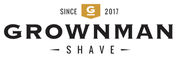 GROWNMAN SHAVE logo