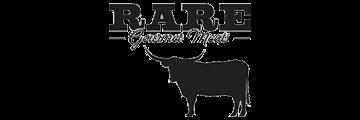 RARE Gourmet Meats logo