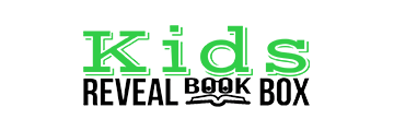 Kids Reveal Book Box logo