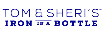 Tom & Sheri's Iron in a Bottle logo