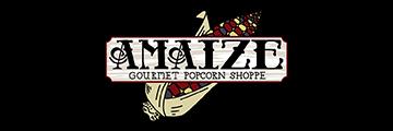 Amaize Gourmet Popcorn logo