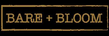 Bare + Bloom logo