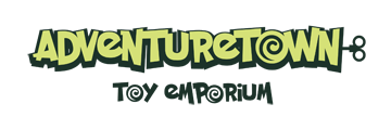 Adventuretown Toy Emporium logo