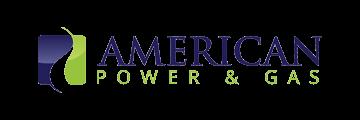 American Power & Gas logo