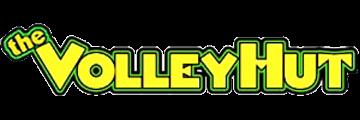 The VolleyHut logo