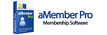 aMember logo