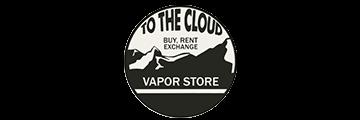 TO THE CLOUD VAPOR STORE logo