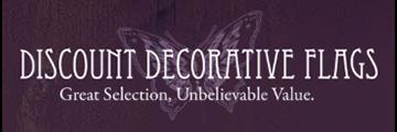 DISCOUNT DECORATIVE FLAGS logo