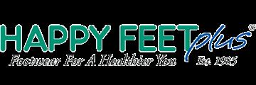 Happy Feet Plus logo