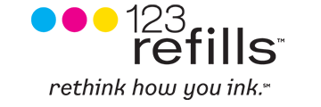 123 refills logo